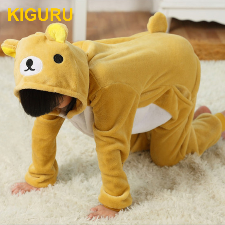 Детская пижама кигуруми мишка Тедди