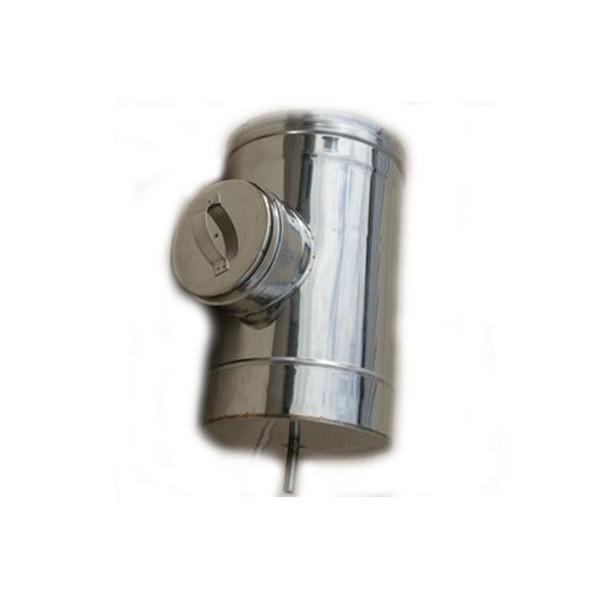 Ревизия одностенная из нержавеющей стали (0,8 мм.)