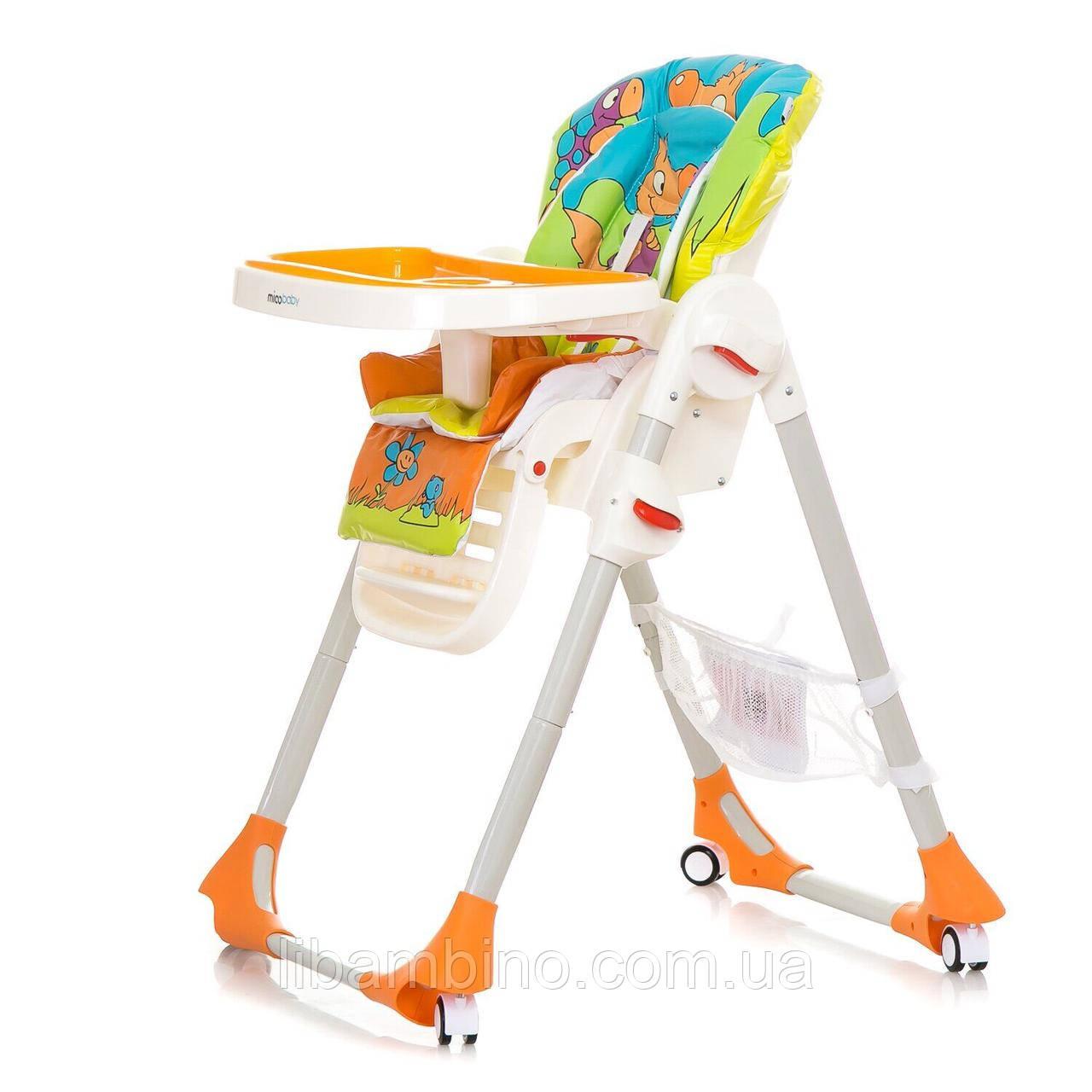 Дитячий універсальний стільчик для годування Mioobaby Rio  - Orange
