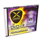 DVD-R EXTREME 8,5 ГБ DL X8 - ТОНКИЙ ЧЕХОЛ 1 ШТ