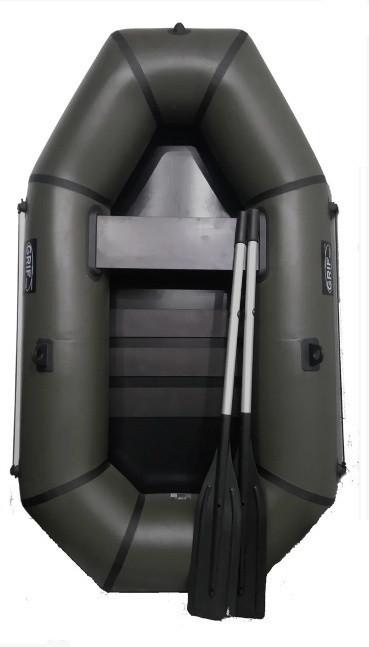 Лодка пвх надувная полутораместная Grif boat GH-210S сланевый настил