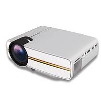 Портативный проектор Projector LED YG400 (BK 30+WT 70PCS) с динамиком / мультимедийный проектор