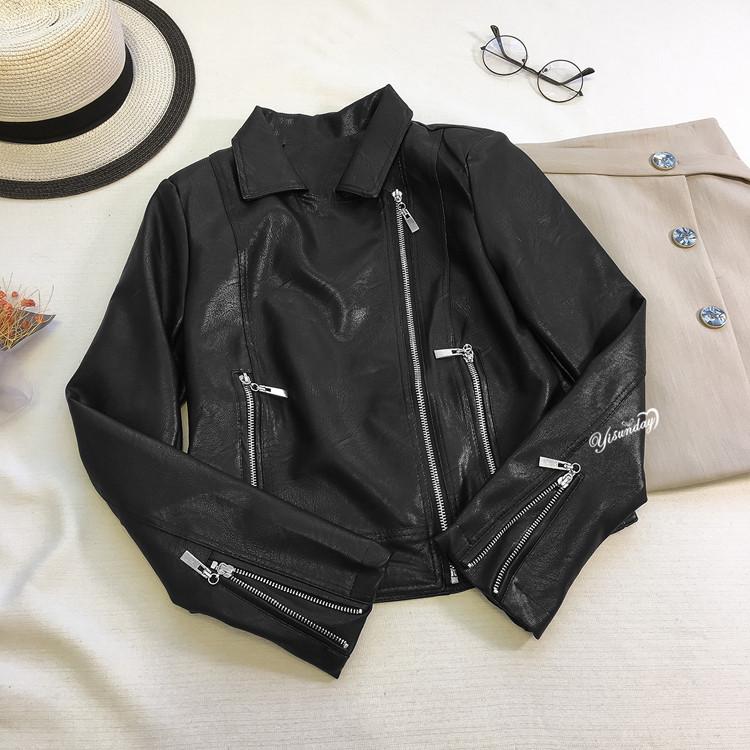 Современная женская куртка косуха (44)