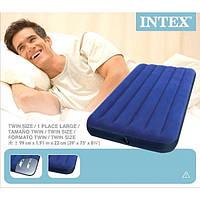 Матраc надувной Intex 68757 (191х99х22 см), 100% ОРИГИНАЛ!