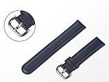 Ремешок для Samsung Active   Active 2   Galaxy watch 42mm кожаный 20мм размер S Темно-Синий BeWatch (1210189), фото 3