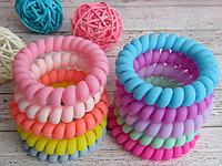Резинки для волос пружинки (спиральки)