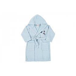 Детский халат Karaca Home - Airship Mavi 2020-2 голубой