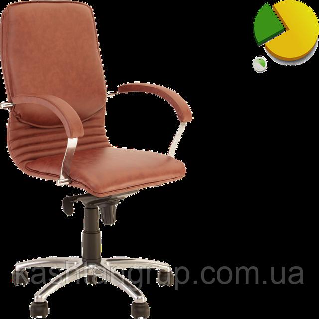 Кресло NOVA steel LB MPD AL68 Шкіра LUX
