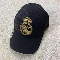Кепка Реал Мадрид черная 19-20 с сеточкой, фото 1