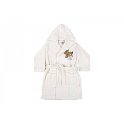 Дитячий халат Karaca Home - Bummer Offwhite 2020-2 кремовий