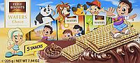 Вафельки дитячі Feiny Biscuits Wafers Choco 225 г