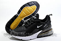 Кроссовки унисекс в стиле Nike Air Max 270, Black\White, фото 3