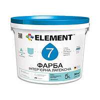 "Краска для обоев под покраску ""element"" 7 5 л"