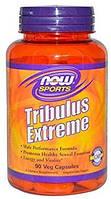 NOW Foods Sports Tribulus Extreme трибулус, Horny Goat Weed, мака, ашваганда, дамиана, зеленый чай 90 капс