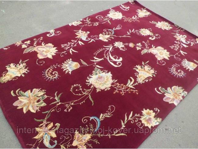 Китайский ковер из шерсти и шелка со скидкой