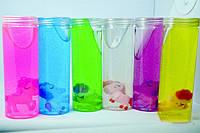 """Слайм, лизун, набор разноцветный """"Единорог"""" 16х5.5см, игрушка детская антистресс, набор 6 шт"""