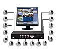 Видеорегистратор база домашний на 16 камер DVR 6616 16 - CAM, фото 4