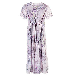 Шифоновое платье для девочки, размеры  8, 9, 10, 12 лет