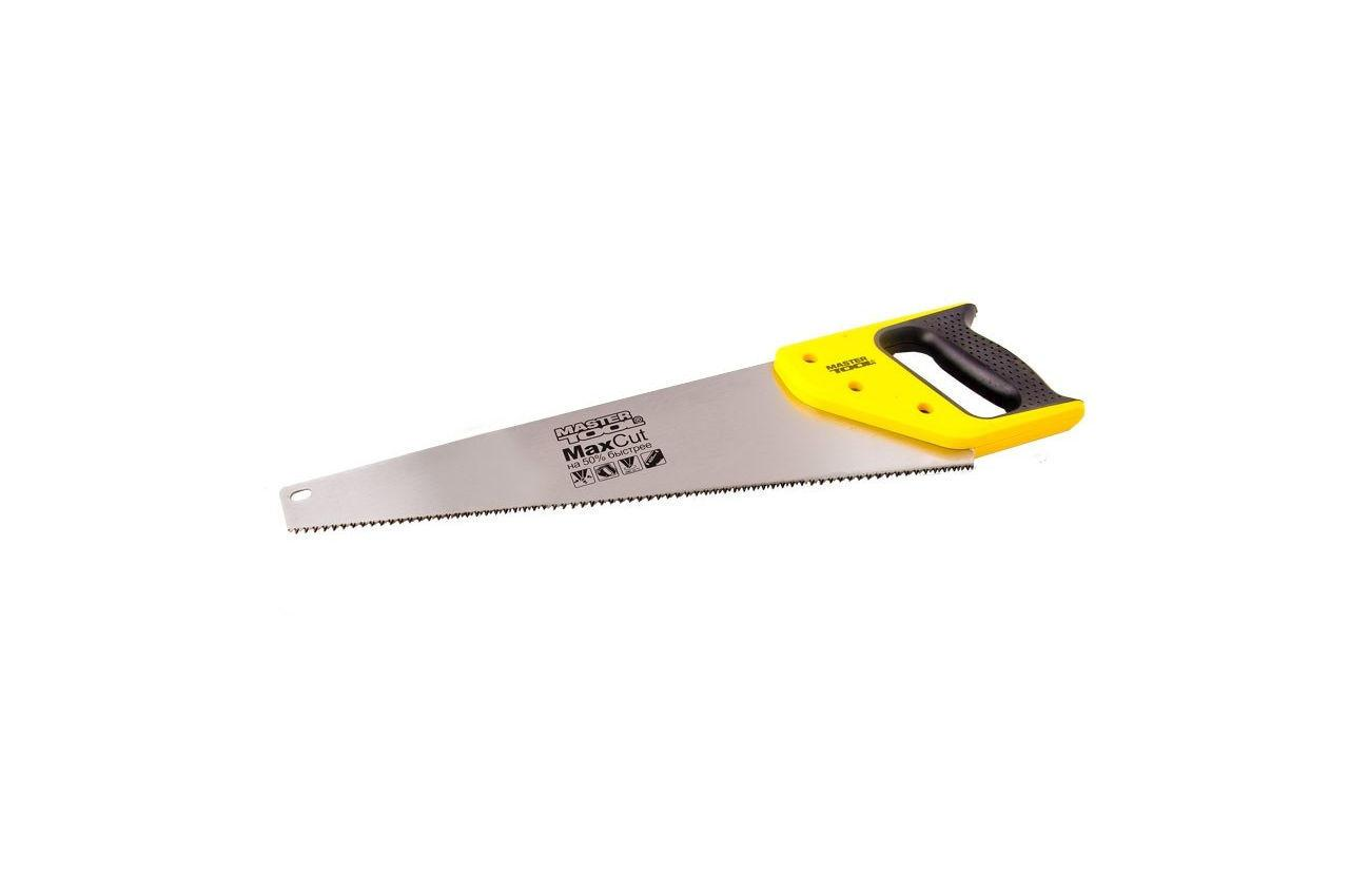 """Ножовка по дереву Mastertool - 400 мм x 9T x 1"""" x 3D, широкая"""
