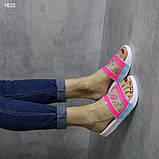Шлепки женские размеры 36,37  А1635, фото 4