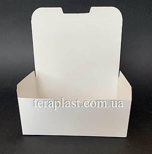 """Упаковка для наггетсов, куриных крыльев (Фудбокс белый) """"Мини"""" 115х75х45 мм, фото 2"""