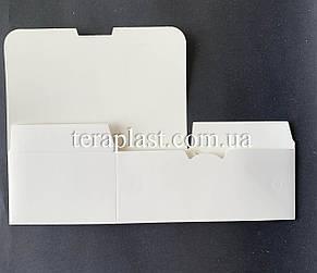 """Упаковка для наггетсов, куриных крыльев (Фудбокс белый) """"Мини"""" 115х75х45 мм, фото 3"""