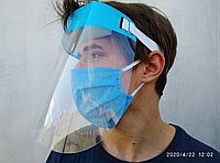Защитный экран для лица медицинский, щиток защитный для лица, защитный щиток лицевой | сертификаты