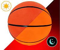 Мяч баскетбольный с LED Подсветкой Jymingde 7 размер | Светящийся баскетбольный мяч