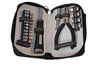 Набор инструментов подарочный дорожный BST 17 предметов в чехле из текстиля 670297