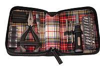 Набор инструментов подарочный дорожный BST 20 предметов в чехле из кожзама 670298