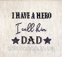 Набор для вышивания нитками LETISTITCH Father's day gift (LETI 933)