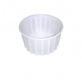 """Форма для сыра """"Круглая"""" d-12 х 11,5, h-7 см выход продукции 0,3-0,8 кг. пластиковая Консенсус"""