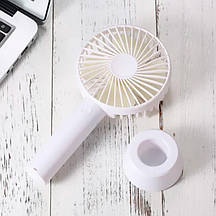 Ручний міні вентилятор, портативний, настільний, акумуляторний USB Handy Mini Fan N9