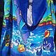 Пончо-полотенце детское пляжное  60х120см., фото 9