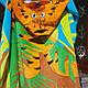 Пончо-полотенце детское пляжное  60х120см., фото 8