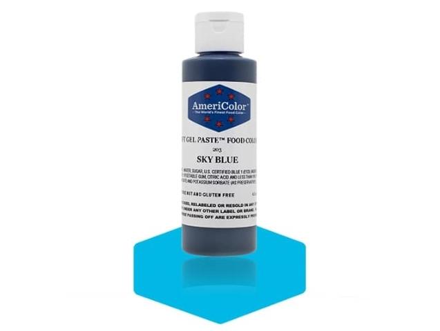Краситель гелевый AmeriColor (Америколор) Небесно-Голубой 128г