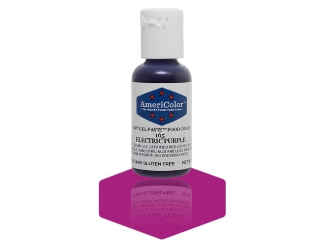 Краситель гелевый Americolor Электрический пурпурный (Electric purple)