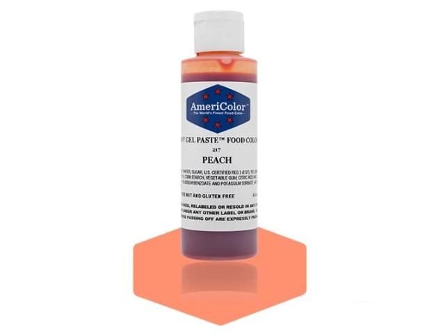 Краситель гелевый AmeriColor (Америколор) Персиковый 128 г