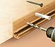Плинтус для столешницы IDEAL 081 Металлик с мягкими краями для кухни 3м, фото 5