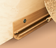 Плинтус для столешницы IDEAL 081 Металлик с мягкими краями для кухни 3м, фото 6