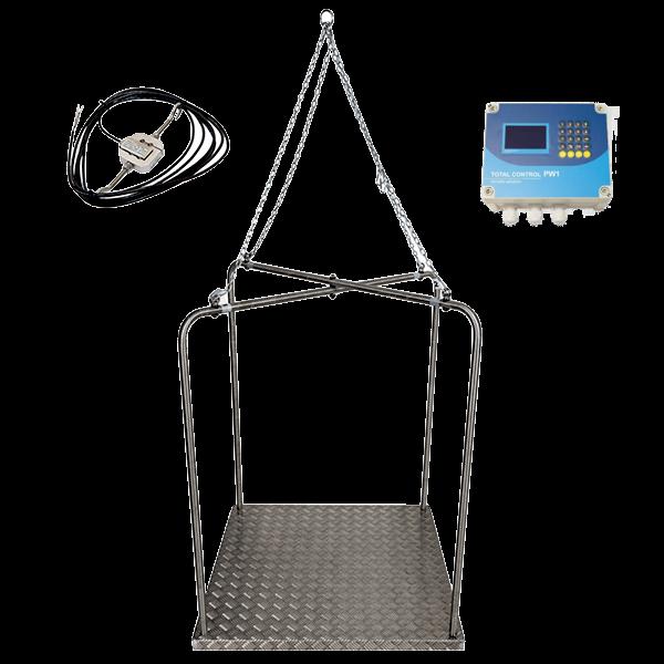 Веса для индеек c контроллером / платформа для взвешивания индюков в птичнике