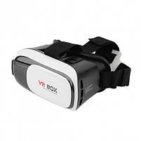 Окуляри віртуальної реальності VR BOX без пульта (White Black) | 3D-шолом віртуальної реальності, фото 2