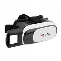 Окуляри віртуальної реальності VR BOX без пульта (White Black) | 3D-шолом віртуальної реальності, фото 3