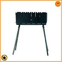 Мангал-чемодан на 6 шампуров (горячекатаный) толщина металла 3 мм