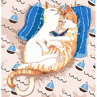 "Картина по номерам. ""Коты Ля-Мур"" 30*30см KHO4164"