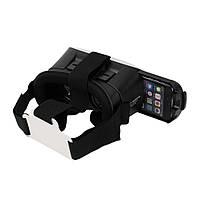 Окуляри віртуальної реальності VR BOX без пульта (White Black) | 3D-шолом віртуальної реальності, фото 4