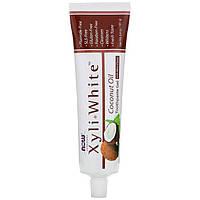 """Зубная гель-паста NOW Foods, Solutions """"XyliWhite"""" вкус кокосовое масло и мята (181 г)"""