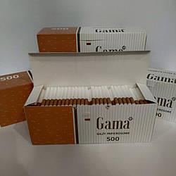 Гильзы для набивки табака Gama 500 шт.в коробке