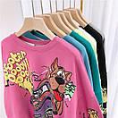 Свитшот оверсайз с принтом мультипликационного героя Скуби-Ду Scooby Doo, фото 5