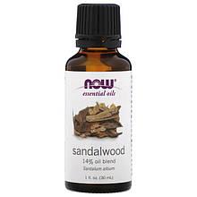 """Эфирное масло сандалового дерева NOW Foods """"Sandalwood"""" (30 мл)"""